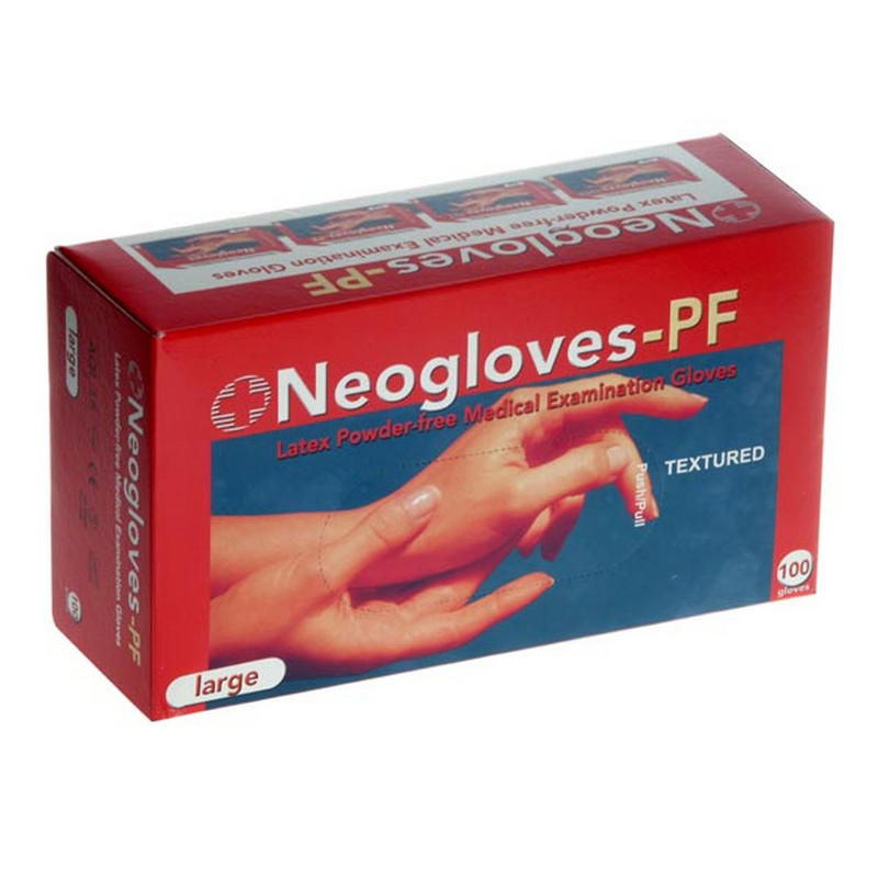 Gloves - Exam Latex P/Free Non-St Medium 100's Neoglove
