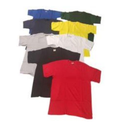 T-SHIRTS 100% COTTON CREW NECK
