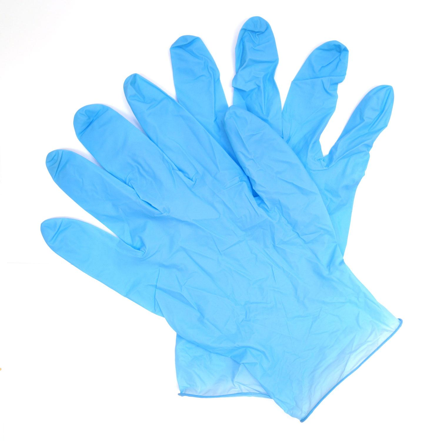 Nitrile Gloves - 100 Gloves Per Box